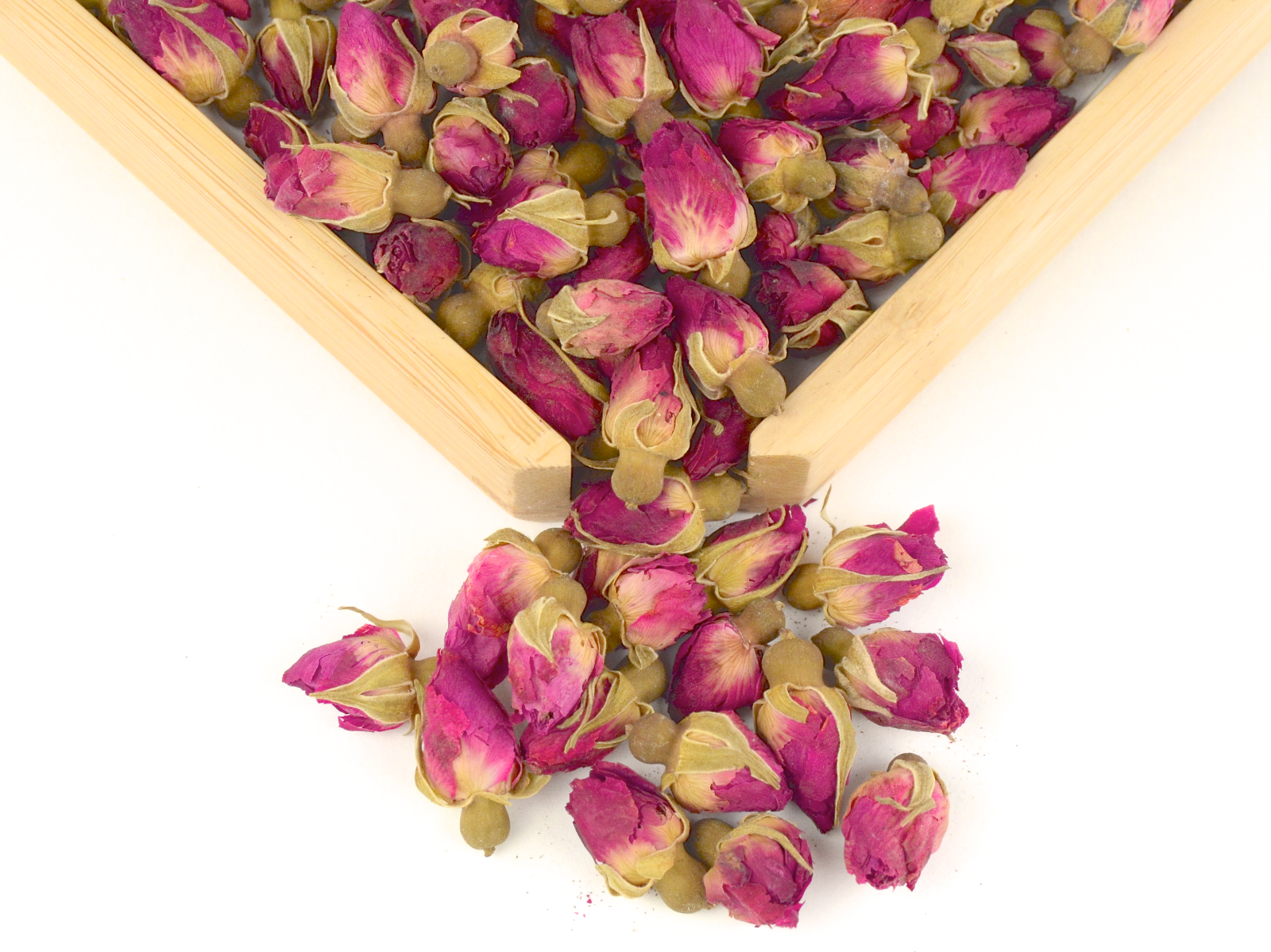 Rose Buds Seven Cups