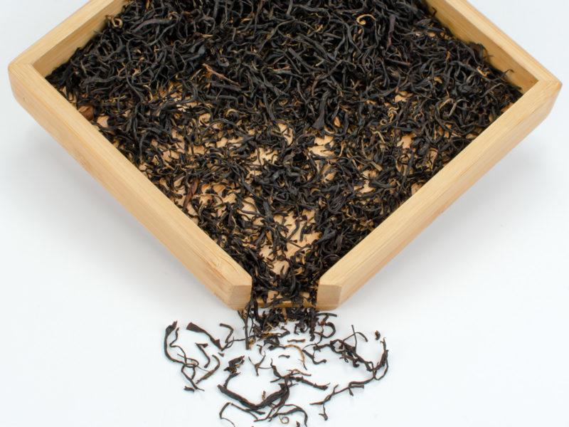 Qimen Caixia Dry tea leaves