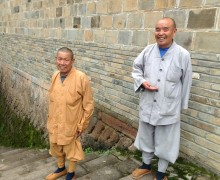 Monks in China
